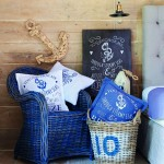 Decoracion navy blue Parlane
