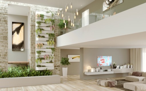 Decoraciones jardin vertical Artevasi