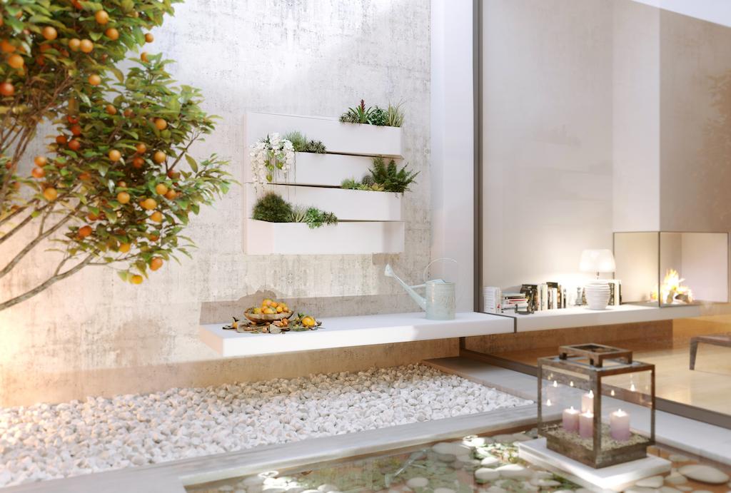 Decoraciones artevasi marfer agencia representaciones exclusivas - Decoracion jardin zen ...