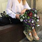 Liderflor ramo de flores artificiales